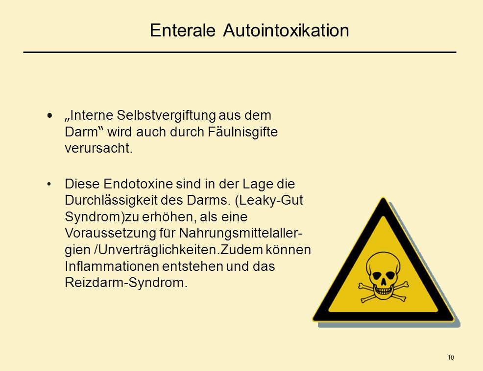 Enterale Autointoxikation