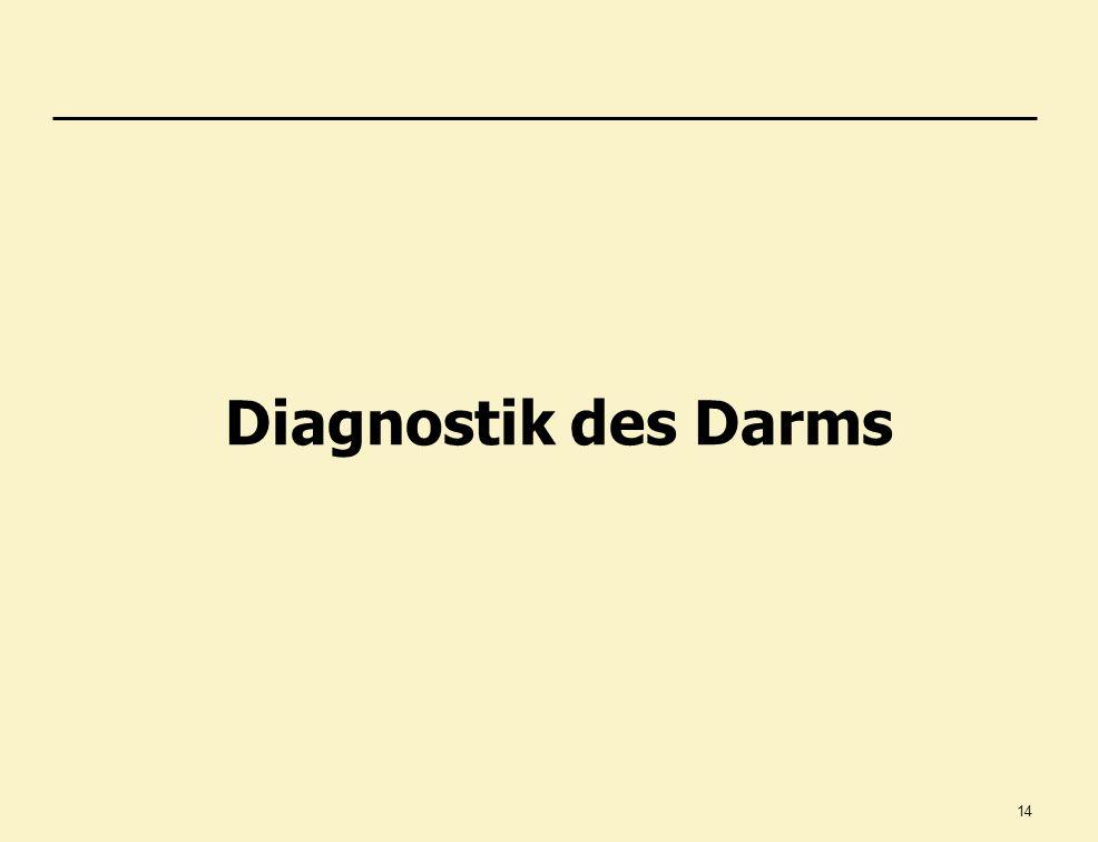 Diagnostik des Darms