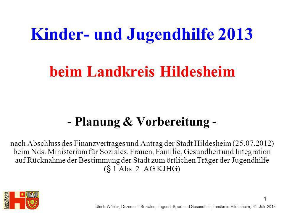 Kinder- und Jugendhilfe 2013