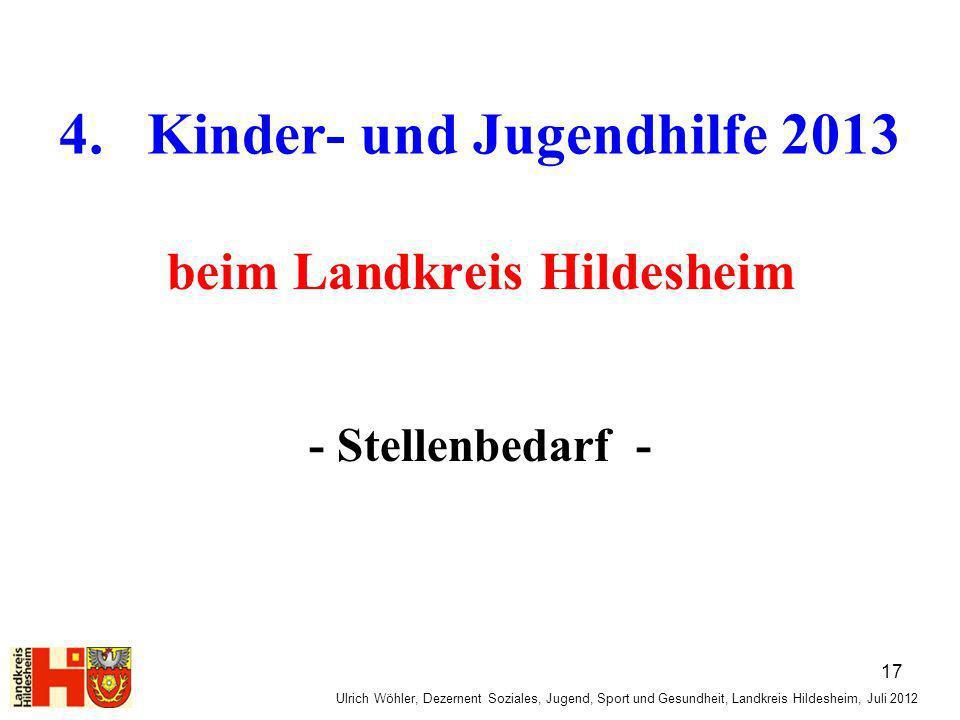 4. Kinder- und Jugendhilfe 2013