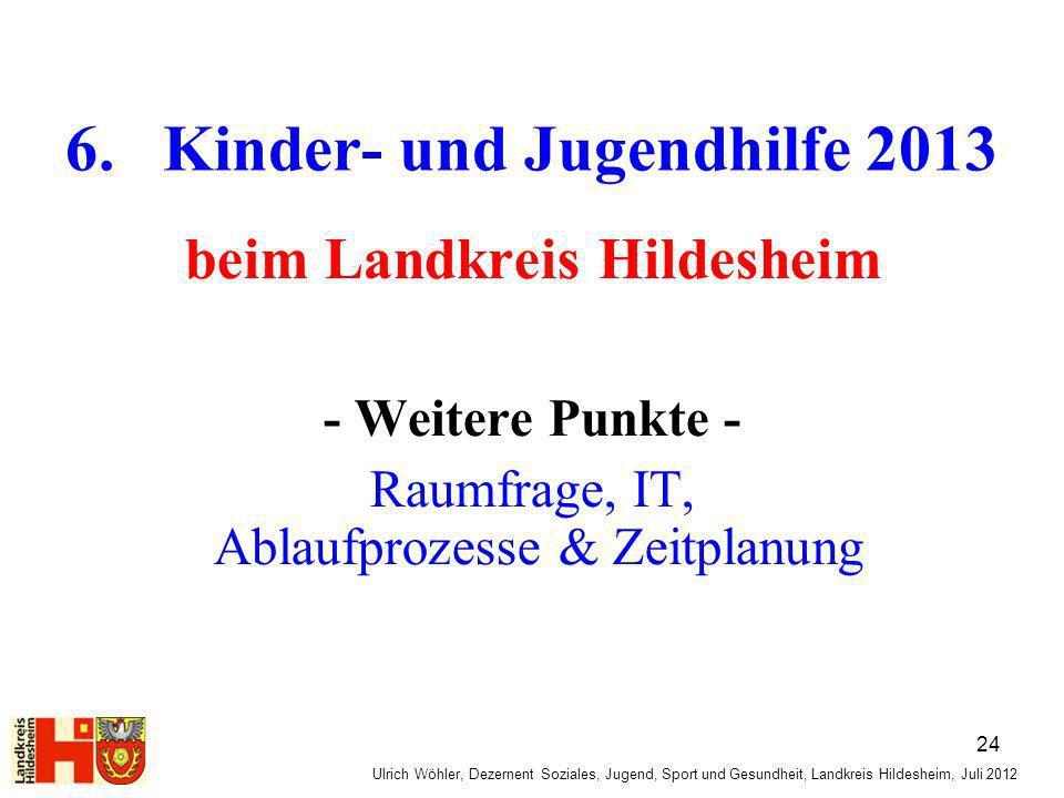 6. Kinder- und Jugendhilfe 2013