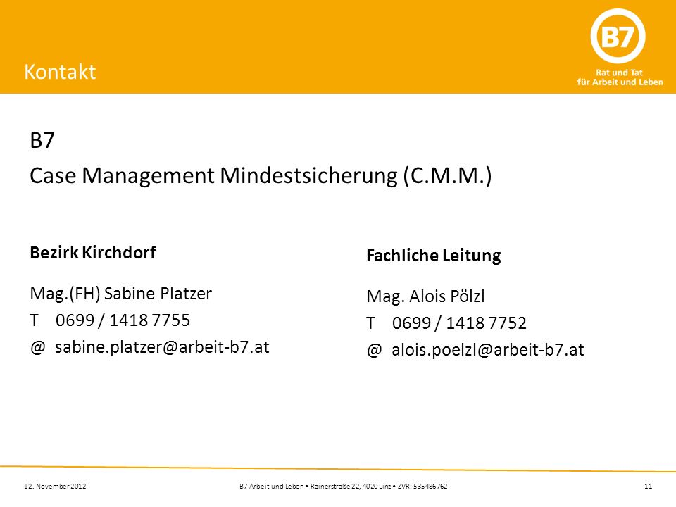 Case Management Mindestsicherung (C.M.M.)