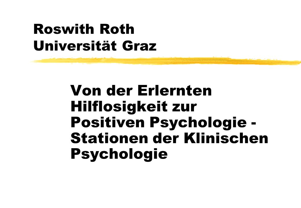 Roswith Roth Universität Graz