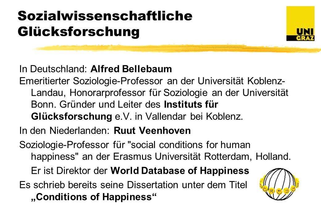 Sozialwissenschaftliche Glücksforschung
