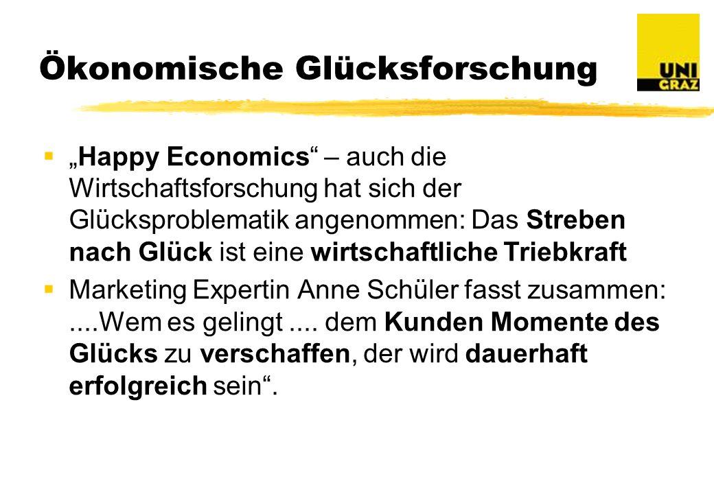 Ökonomische Glücksforschung