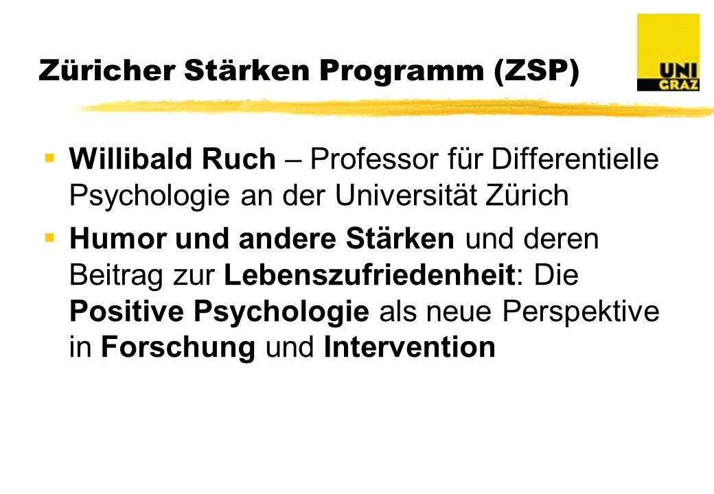 Züricher Stärken Programm (ZSP)