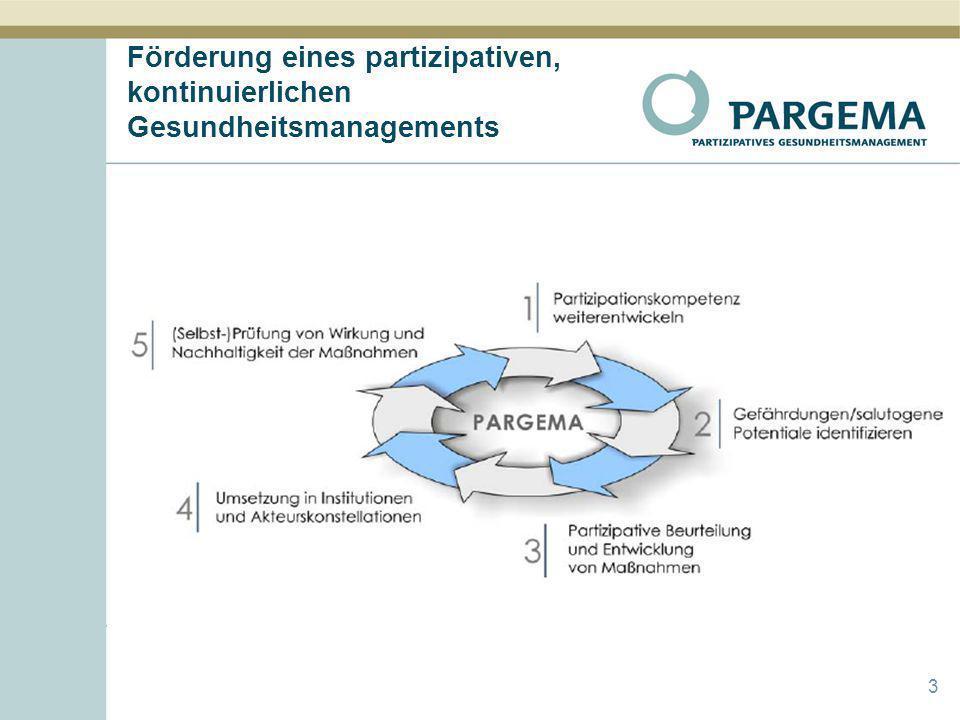 Förderung eines partizipativen, kontinuierlichen Gesundheitsmanagements