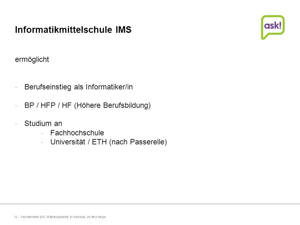 Informatikmittelschule IMS