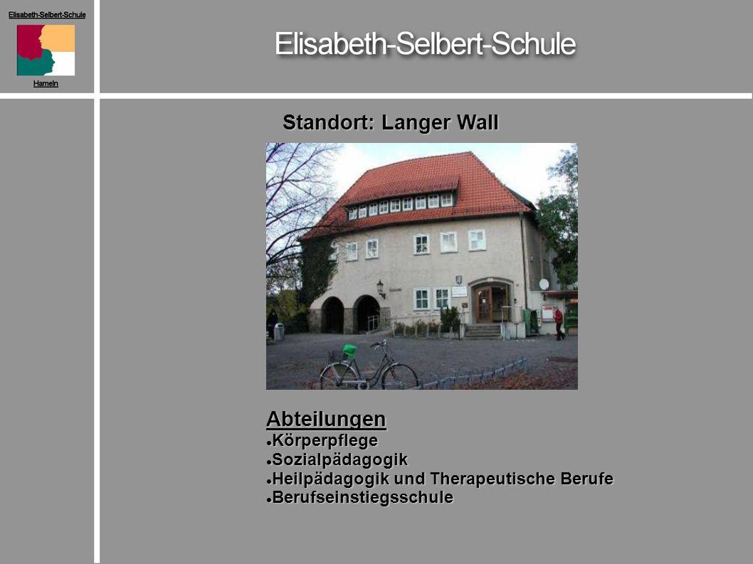 Standort: Langer Wall Abteilungen Körperpflege Sozialpädagogik