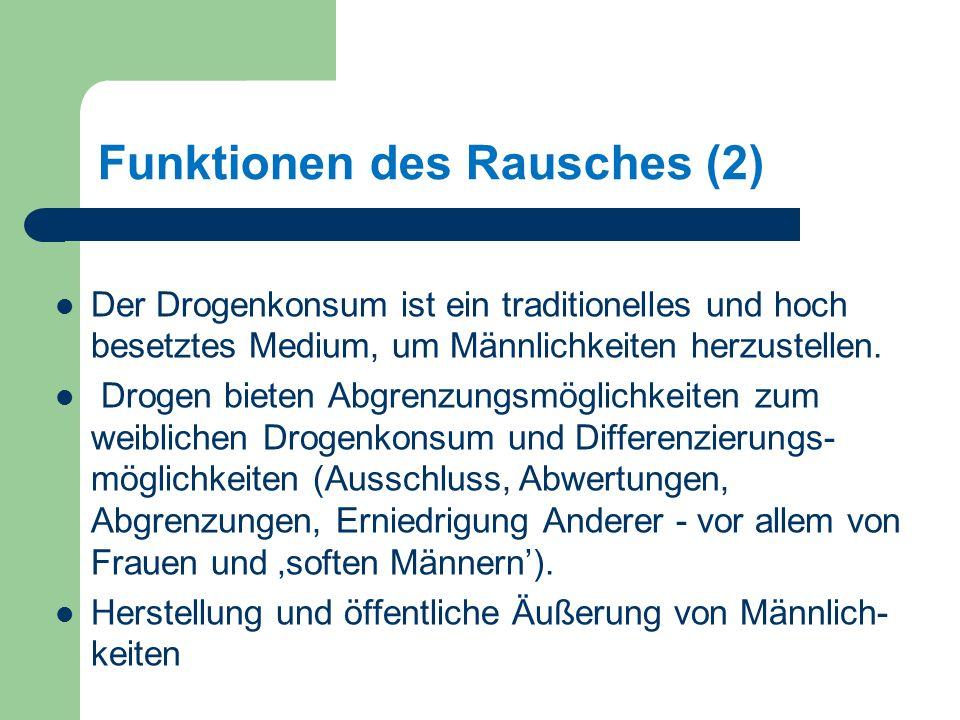 Funktionen des Rausches (2)