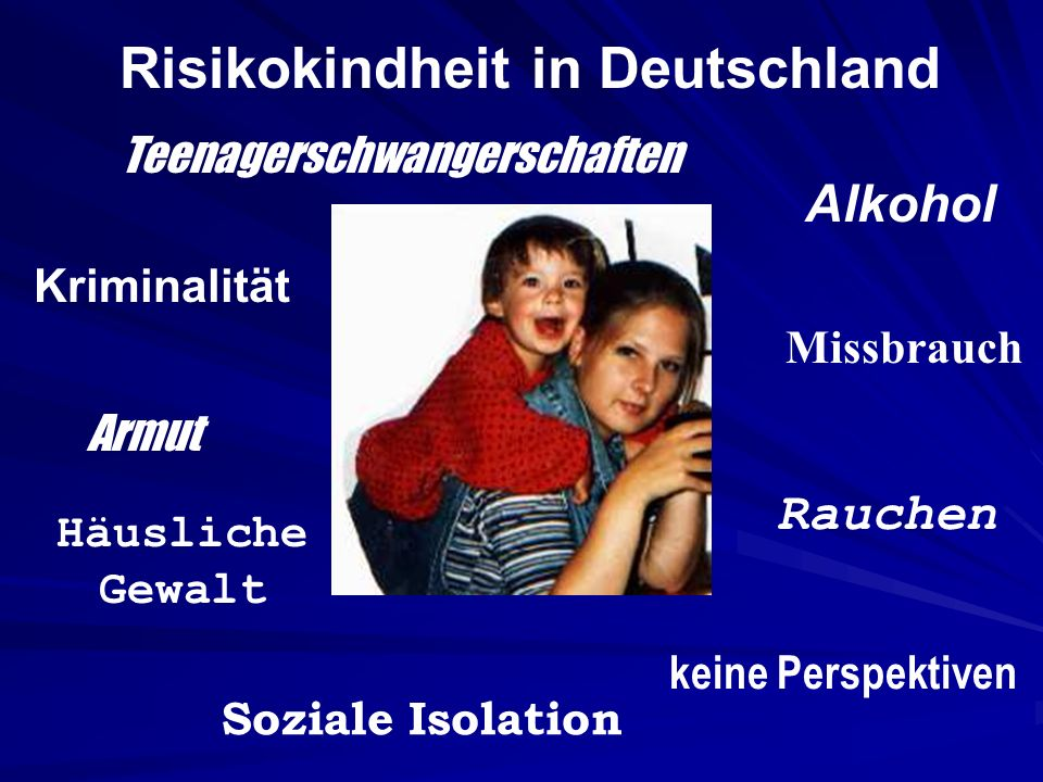 Risikokindheit in Deutschland