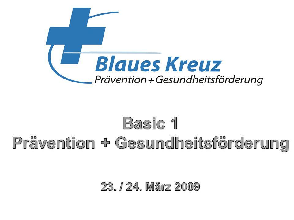 Basic 1 Prävention + Gesundheitsförderung