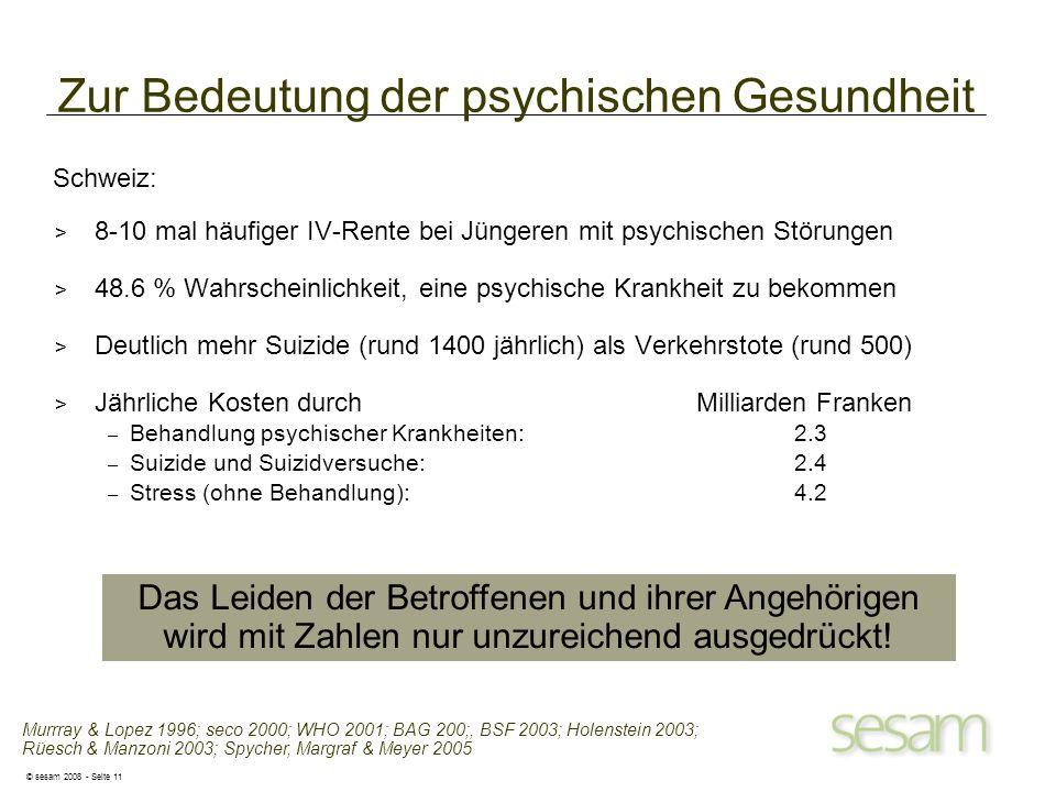 Zur Bedeutung der psychischen Gesundheit