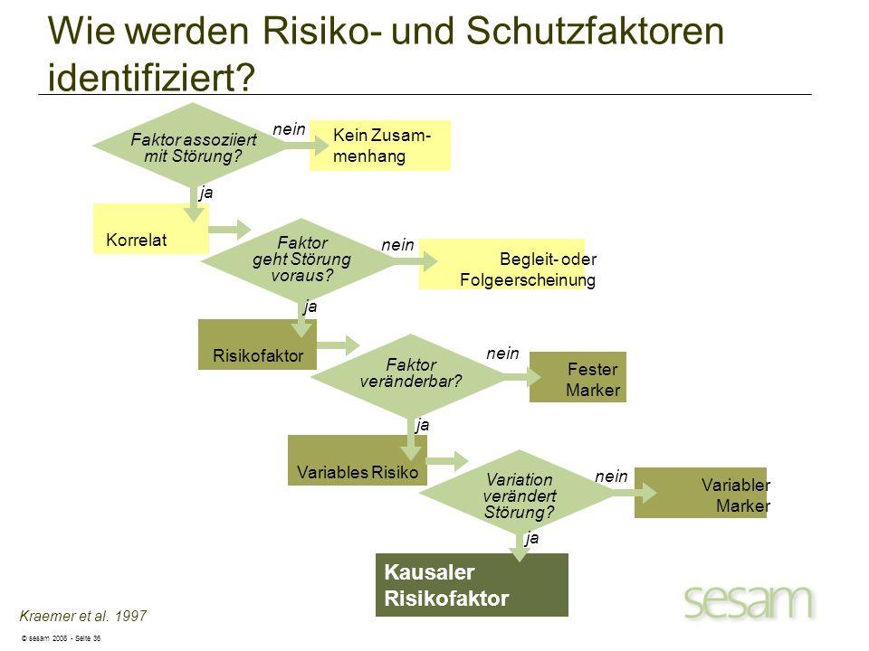 Wie werden Risiko- und Schutzfaktoren identifiziert