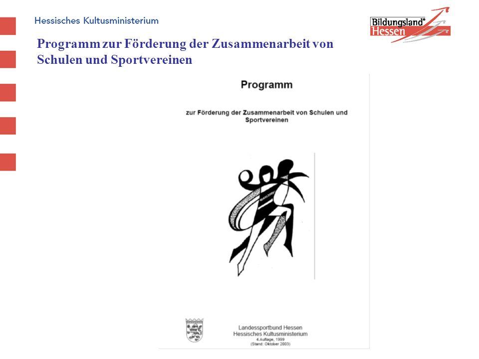 Programm zur Förderung der Zusammenarbeit von