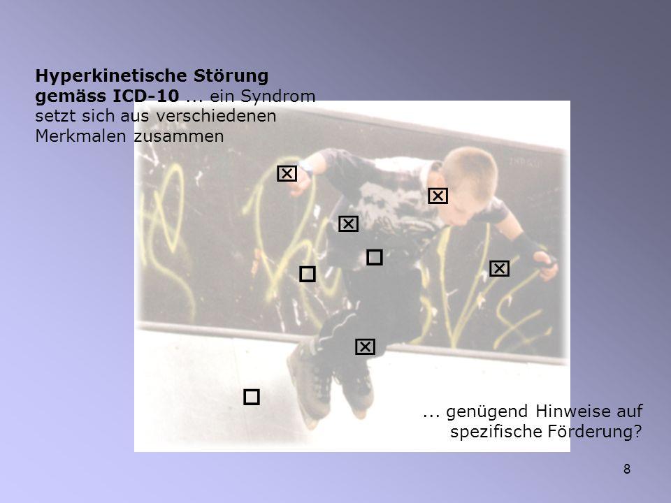 Hyperkinetische Störung gemäss ICD-10