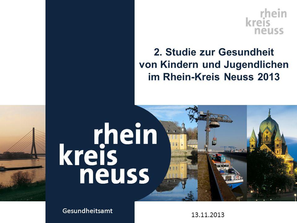 2. Studie zur Gesundheit von Kindern und Jugendlichen im Rhein-Kreis Neuss 2013