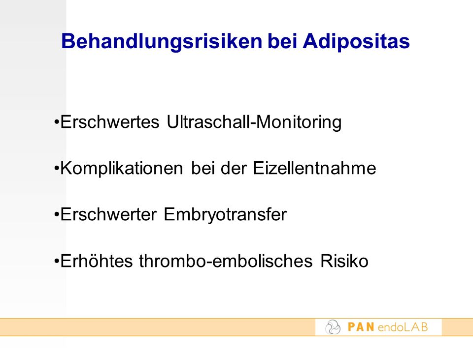 Behandlungsrisiken bei Adipositas