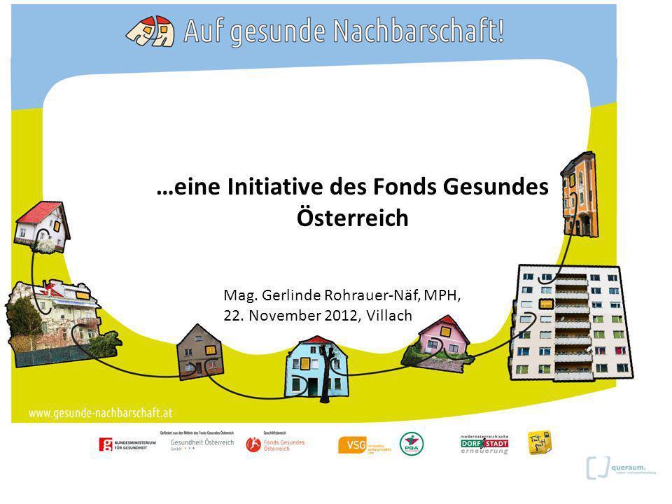 …eine Initiative des Fonds Gesundes Österreich