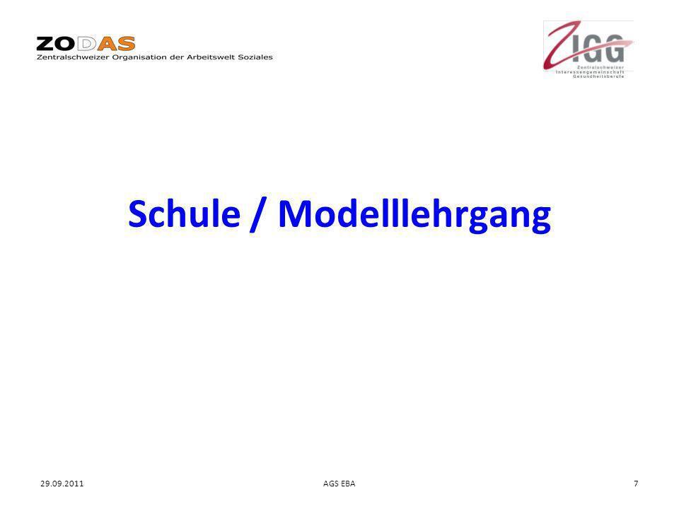 Schule / Modelllehrgang