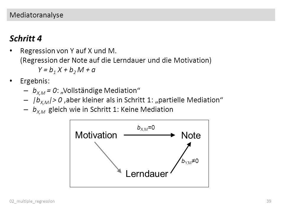 Schritt 4 Motivation Note Lerndauer Mediatoranalyse