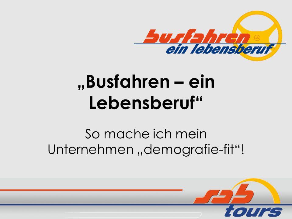 """Busfahren – ein Lebensberuf"