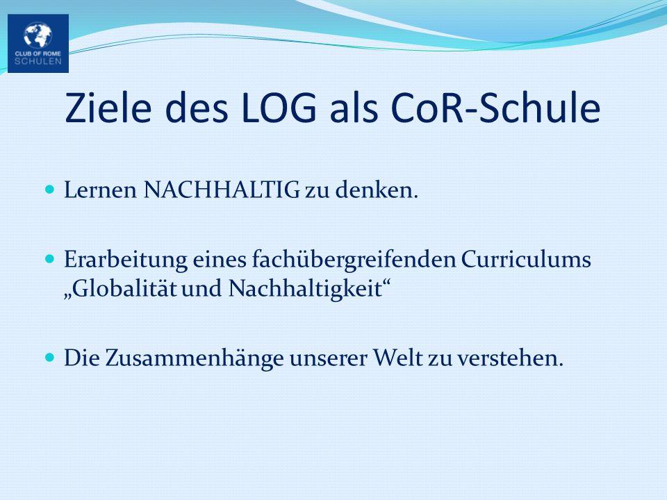 Ziele des LOG als CoR-Schule