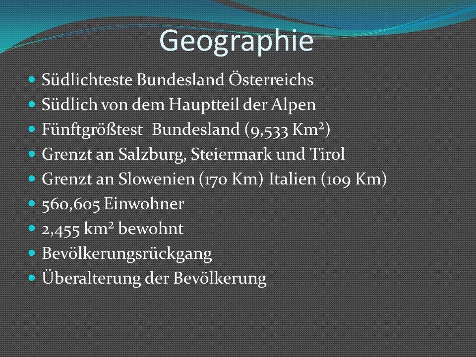 Geographie Südlichteste Bundesland Österreichs