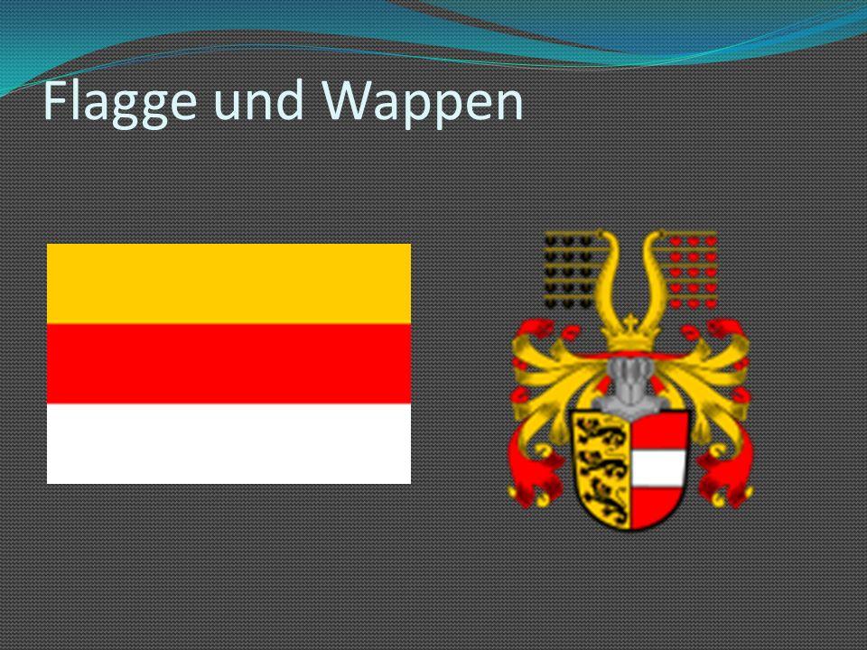 Flagge und Wappen