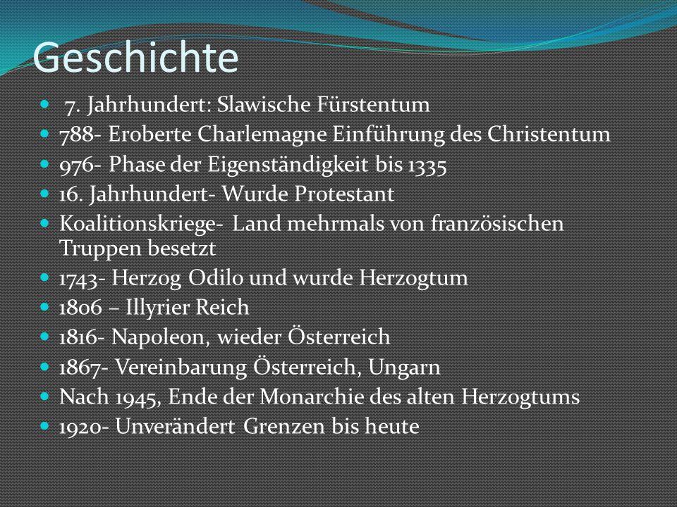 Geschichte 7. Jahrhundert: Slawische Fürstentum