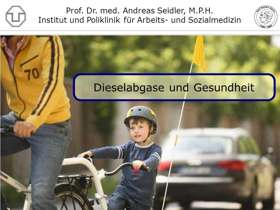 Dieselabgase und Gesundheit