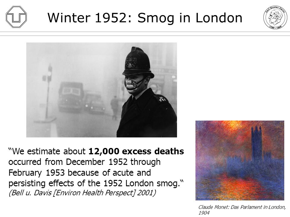 Winter 1952: Smog in London