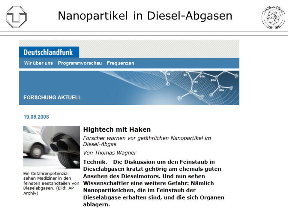 Nanopartikel in Diesel-Abgasen