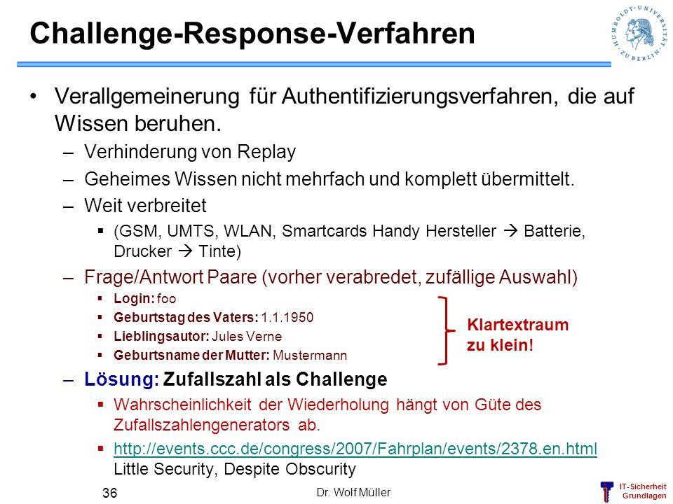 Challenge-Response-Verfahren