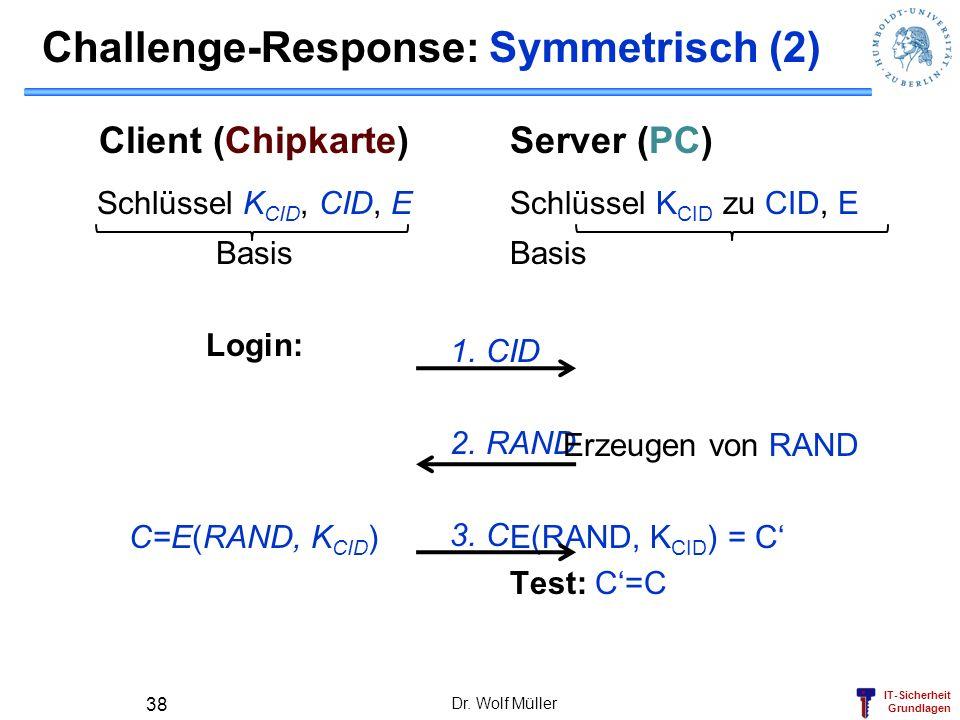 Challenge-Response: Symmetrisch (2)