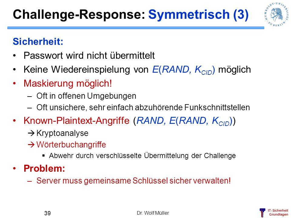 Challenge-Response: Symmetrisch (3)