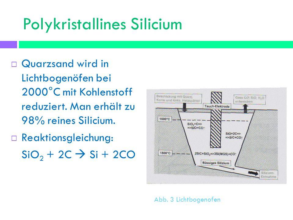 Polykristallines Silicium