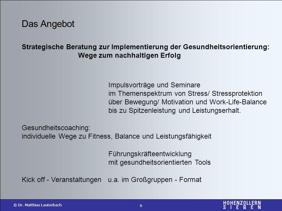 Das Angebot Strategische Beratung zur Implementierung der Gesundheitsorientierung: Wege zum nachhaltigen Erfolg.