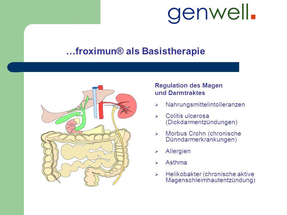 …froximun® als Basistherapie