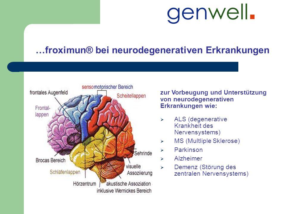 …froximun® bei neurodegenerativen Erkrankungen