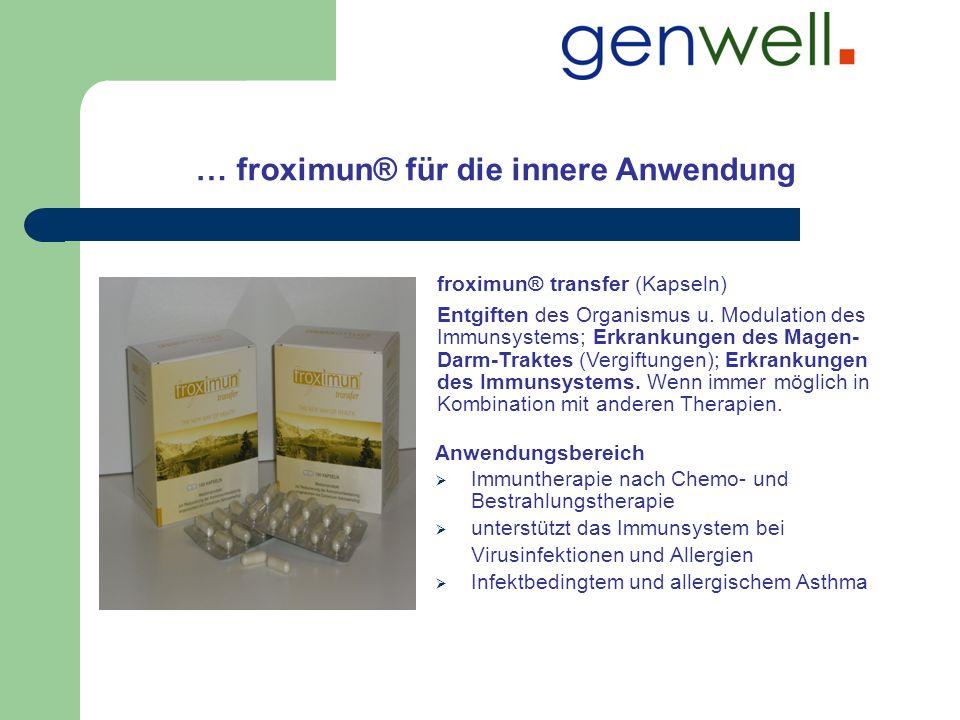 … froximun® für die innere Anwendung