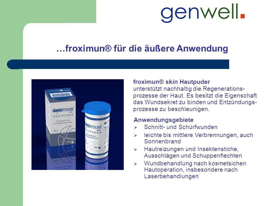 …froximun® für die äußere Anwendung