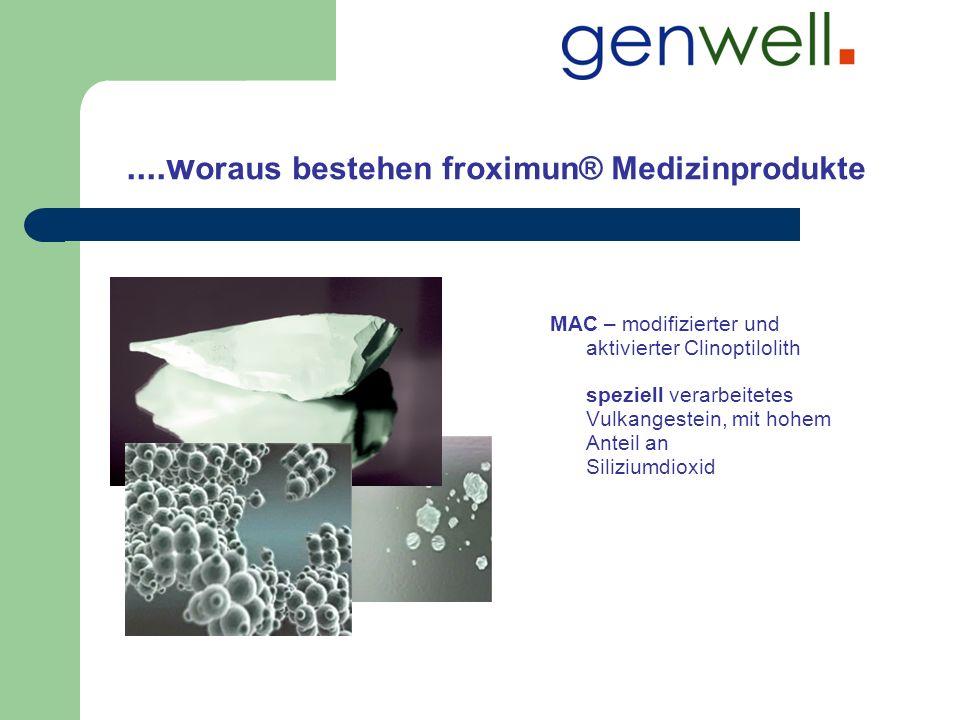 ....woraus bestehen froximun® Medizinprodukte