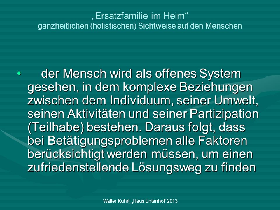 """Walter Kuhrt, """"Haus Entenhof 2013"""