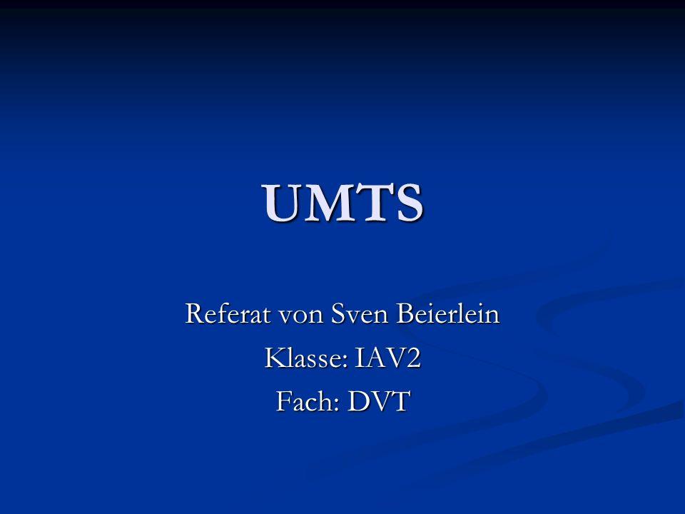 Referat von Sven Beierlein Klasse: IAV2 Fach: DVT