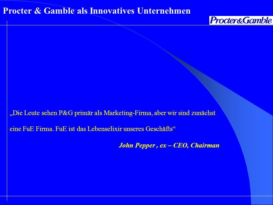 Procter & Gamble als Innovatives Unternehmen