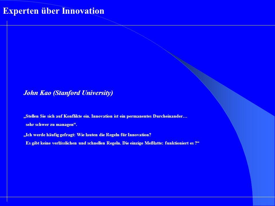 Experten über Innovation
