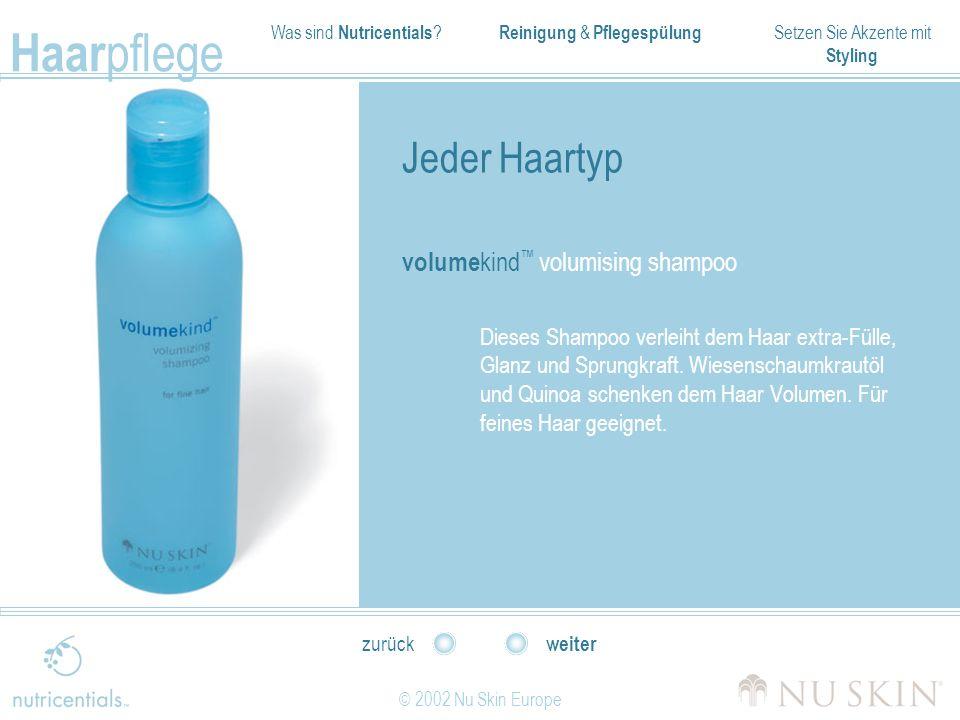 Jeder Haartyp volumekind™ volumising shampoo