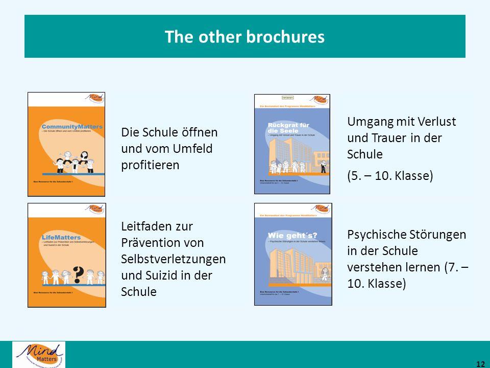 The other brochures Umgang mit Verlust und Trauer in der Schule
