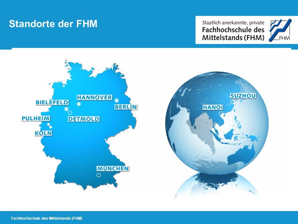 Standorte der FHM